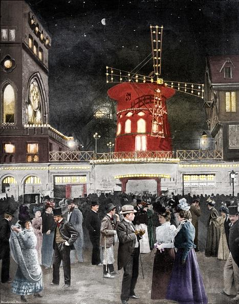 1900-1909「Montmartre Samuse La Sortie Du Moulin Rouge,1900. Artist: Unknown.」:写真・画像(8)[壁紙.com]
