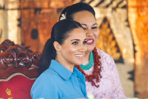 Queens Commonwealth Canopy「The Duke And Duchess Of Sussex Visit Tonga - Day 2」:写真・画像(16)[壁紙.com]
