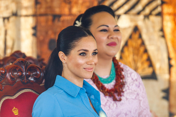 Queens Commonwealth Canopy「The Duke And Duchess Of Sussex Visit Tonga - Day 2」:写真・画像(19)[壁紙.com]