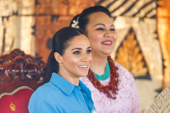 Queens Commonwealth Canopy「The Duke And Duchess Of Sussex Visit Tonga - Day 2」:写真・画像(17)[壁紙.com]