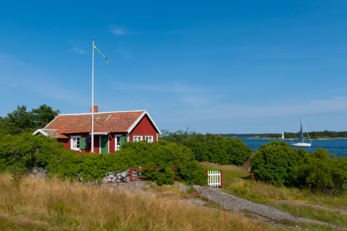 Swedish Culture「Cute little cottage in the archipelago」:スマホ壁紙(17)