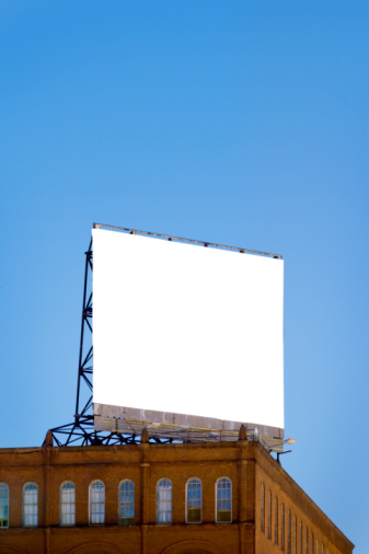 Rectangle「USA, Maryland, Baltimore, Billboard on Copycat building, low angle view」:スマホ壁紙(10)
