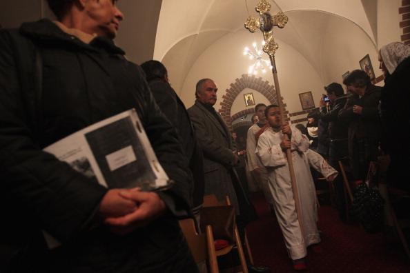 Worshipper「Coptic Christians Celebrate Christmas」:写真・画像(11)[壁紙.com]