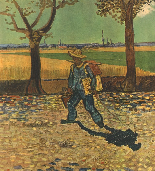 Arles「The Painter On His Way To Work」:写真・画像(19)[壁紙.com]