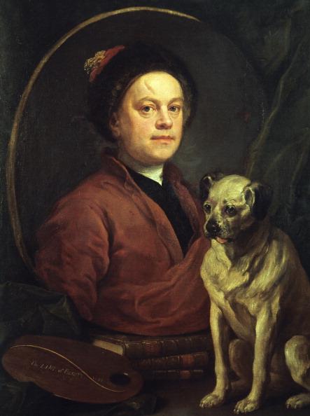 William Hogarth「'The Painter and his Pug ', 1745. Artist: William Hogarth」:写真・画像(5)[壁紙.com]