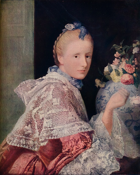18th Century Style「The Painters Wife, 1760」:写真・画像(11)[壁紙.com]