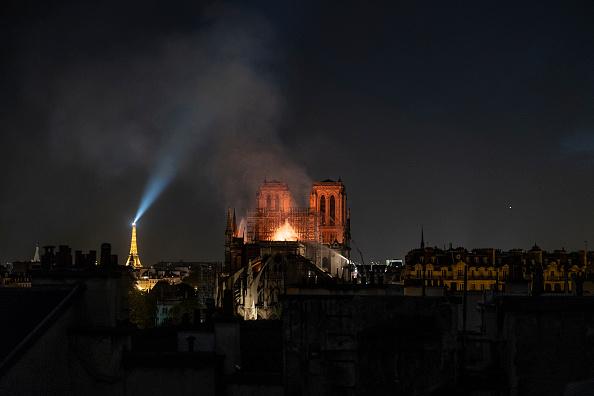 Notre Dame de Paris「Fire Breaks Out At Iconic Notre-Dame Cathedral In Paris」:写真・画像(3)[壁紙.com]