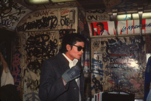 Graffiti「Michael Jackson In 'Bad'」:写真・画像(3)[壁紙.com]