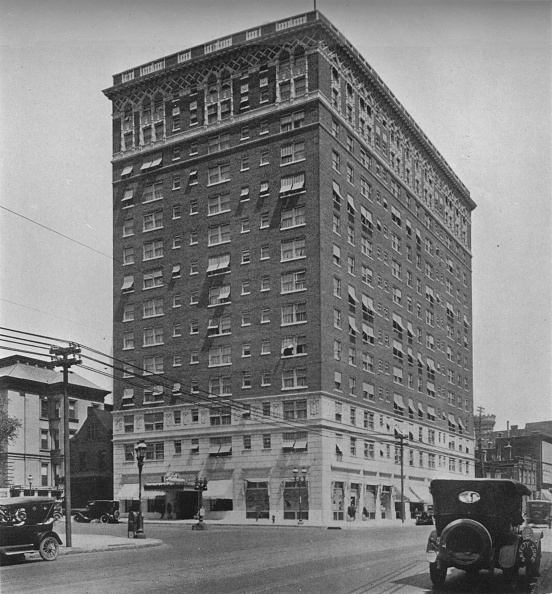 Missouri「General Exterior View, The Melbourne Hotel, St Louis, Missouri, 1924.」:写真・画像(3)[壁紙.com]