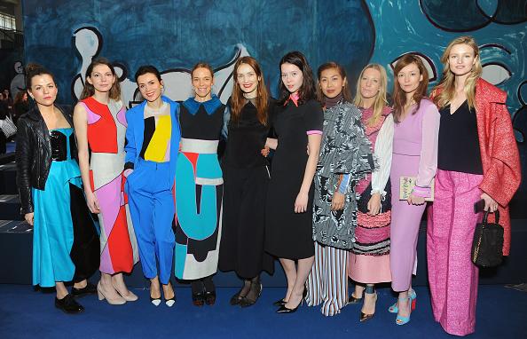 ロンドンファッションウィーク「Front Row & Celebrities: Day 4 - LFW AW16」:写真・画像(4)[壁紙.com]