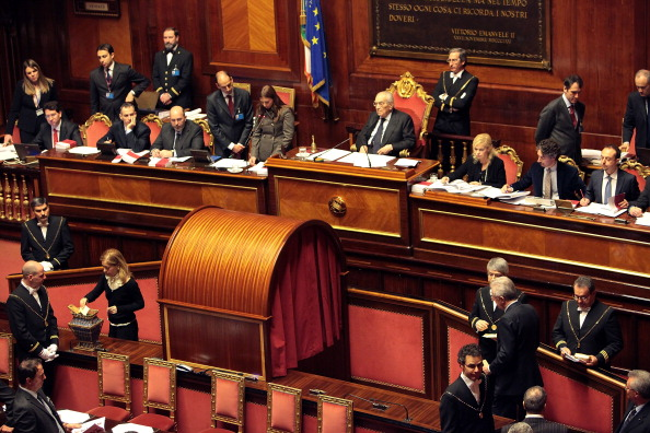 Parliament Building「Italy's Parliament Holds First Session」:写真・画像(8)[壁紙.com]