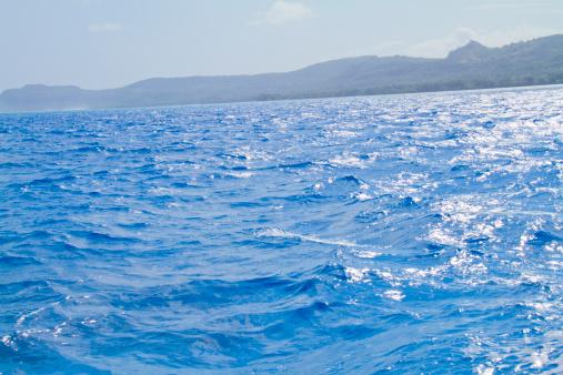 Northern Mariana Islands「Sea surface from a boat」:スマホ壁紙(14)