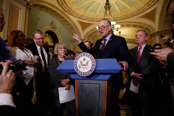Senate Democrats Address The Media After Their Weekly Policy Luncheon:ニュース(壁紙.com)