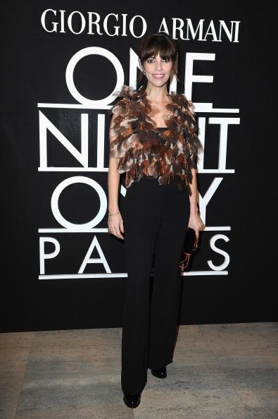 Pascal Le Segretain「Giorgio Armani Prive : Front Row - Paris Fashion Week - Haute Couture S/S 2014」:写真・画像(12)[壁紙.com]