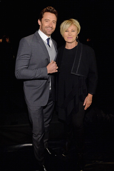 Wife「Donna Karan New York 30th Anniversary - Front Row - Mercedes-Benz Fashion Week Fall 2014」:写真・画像(13)[壁紙.com]