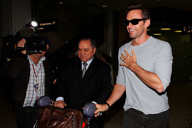 Hugh Jackman Arrives In Sydney:ニュース(壁紙.com)