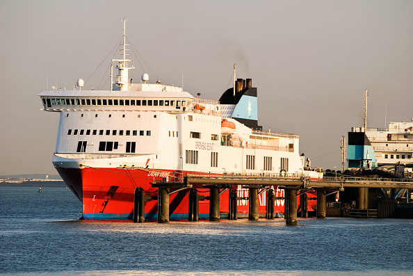 Ferry「Lagan Viking ferry ship at Birkenhead, Merseyside, UK」:写真・画像(18)[壁紙.com]