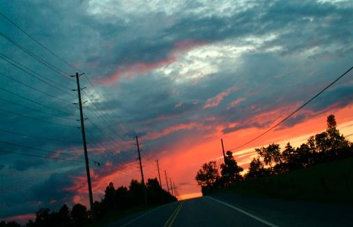 Fireball「A sunrise/sunset」:スマホ壁紙(19)