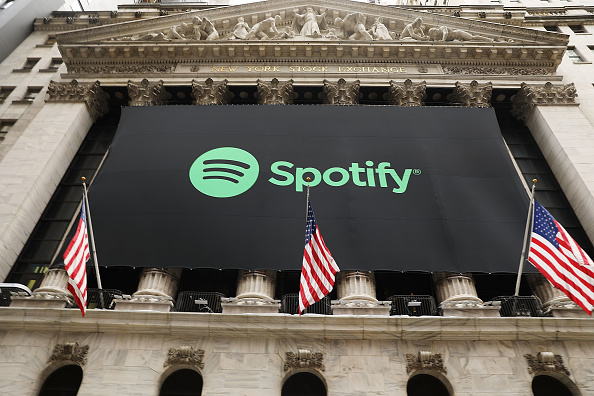 Spotify「Music Streaming Service Spotify Goes Public On The New York Stock Exchange」:写真・画像(8)[壁紙.com]