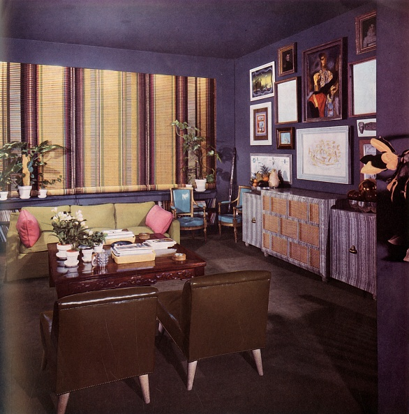 Costume Jewelry「Living-Room In An Apartment Designed By William Pahlmann」:写真・画像(9)[壁紙.com]