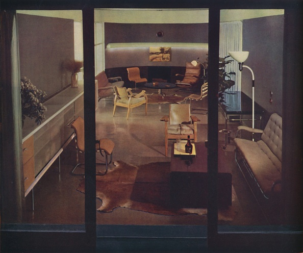 Upholstered Furniture「Living-Room Office By Russel Wright」:写真・画像(1)[壁紙.com]