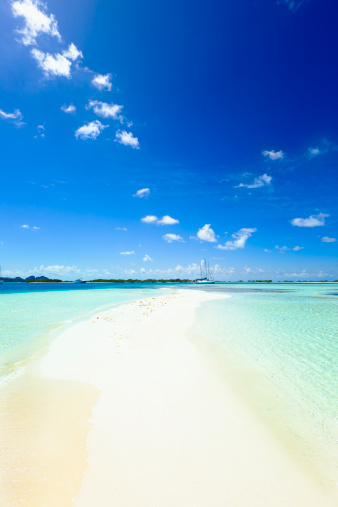 Cay「Paradisaical tropical white sand cays with turquoise beaches」:スマホ壁紙(12)