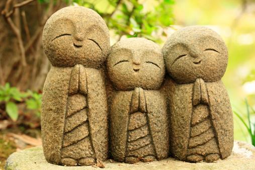 Kamakura City「Stone stature of Jizo.」:スマホ壁紙(15)