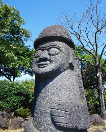 Jeju Island「Stone statue in Jeju, Korea」:スマホ壁紙(14)