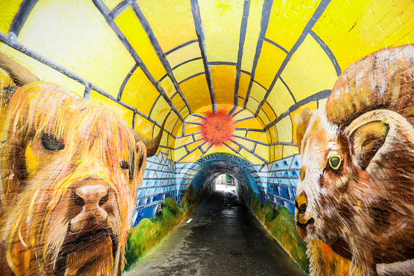 Footpath「Fire-Damaged Tunnel Gets Facelift Thanks to Local Community Volunteers and Cif's Hello Beautiful Neighbourhood Project」:写真・画像(15)[壁紙.com]