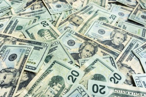 Currency「Money Pile $20 dollar bills」:スマホ壁紙(9)