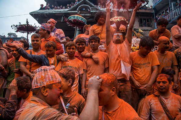 Cultures「Locals Gather For The Sindoor Jatra Festival」:写真・画像(15)[壁紙.com]