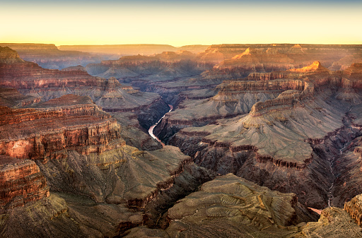 Sunbeam「Sunset in Grand Canyon National Park from Pima Point」:スマホ壁紙(1)