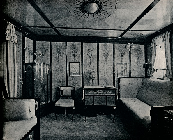North「'Cabin-De-Luxe on the North German Lloyd SS. Kronprinzessin Cecilie', c1907」:写真・画像(16)[壁紙.com]