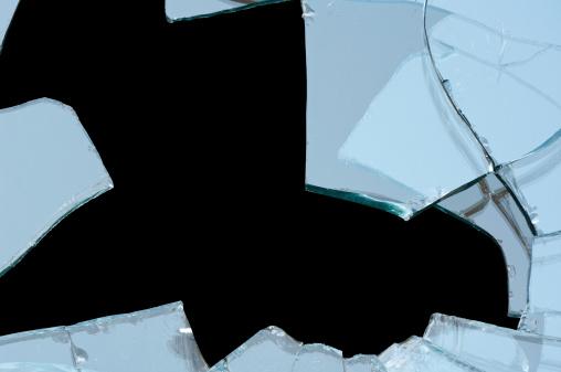割れガラス「割れガラス」:スマホ壁紙(5)