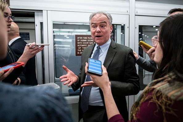 Timothy Kaine「Senators Return To Capitol Hill For 2020 Session」:写真・画像(3)[壁紙.com]