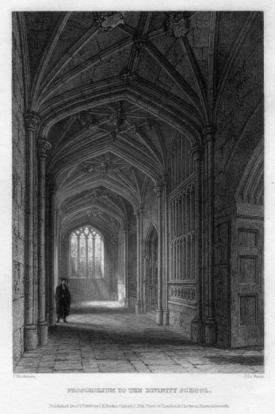 Ceiling Fan「Proscholium to the Divinity School, Oxford, 1836.Artist: John Le Keux」:写真・画像(18)[壁紙.com]