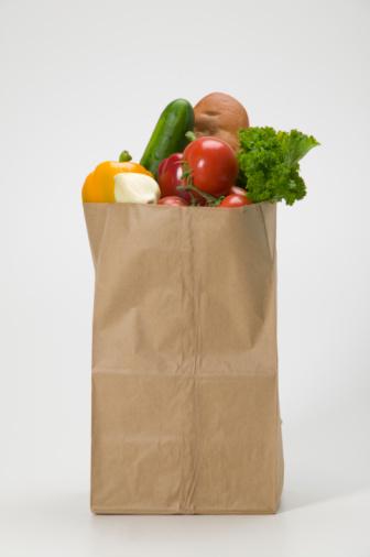 Supermarket「Grocery bag full of vegetables」:スマホ壁紙(10)