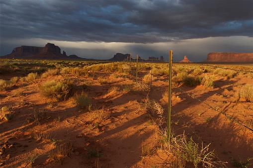 横位置「アリゾナ州、モニュメントバレー」:スマホ壁紙(16)