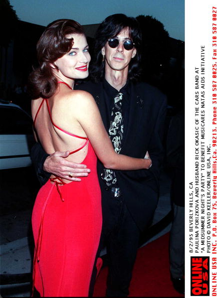 "Denny Keeler「8/2/95 BEVERLY HILL, CA PAULINA PORIZKOVA AND RICK OKASIC AT ""A MIDSUMMER NIGHT's PARTY TO BENEFIT M」:写真・画像(2)[壁紙.com]"