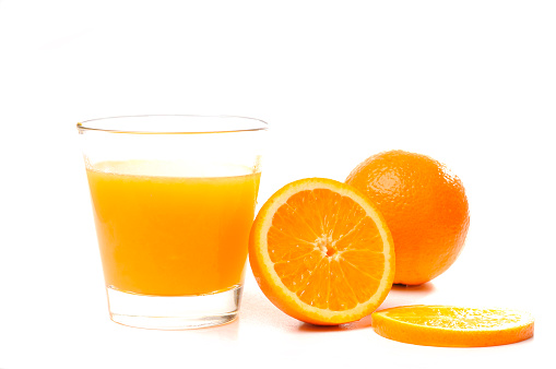 Orange juice「オレンジジュースのガラス」:スマホ壁紙(3)