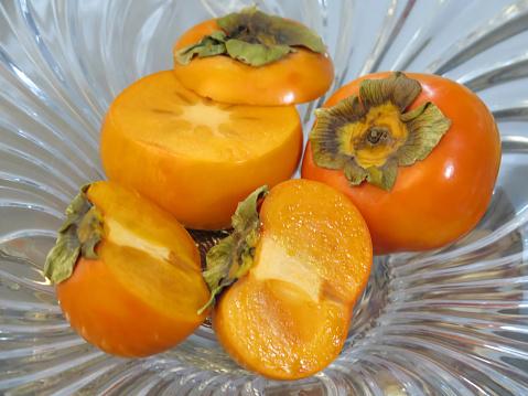 Fuyu「Fresh Japanese Fuyu Persimmon Fruit.」:スマホ壁紙(17)