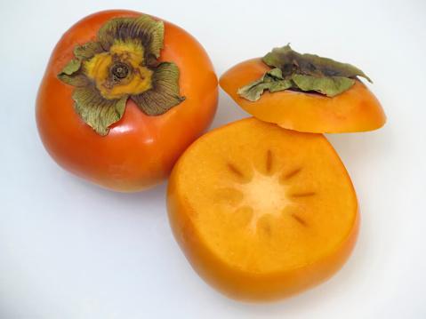 Fuyu「Fresh Japanese Fuyu Persimmon Fruit.」:スマホ壁紙(16)