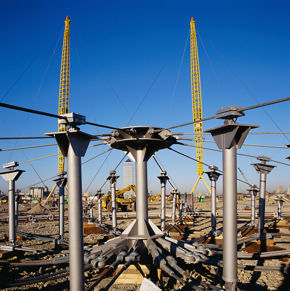 Support「Apex of roof for Millennium Dome, Greenwich, London, UK」:写真・画像(7)[壁紙.com]