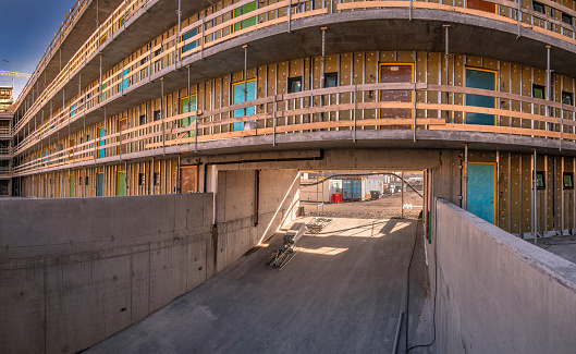 Housing Project「Construction site of new apartments.」:スマホ壁紙(15)