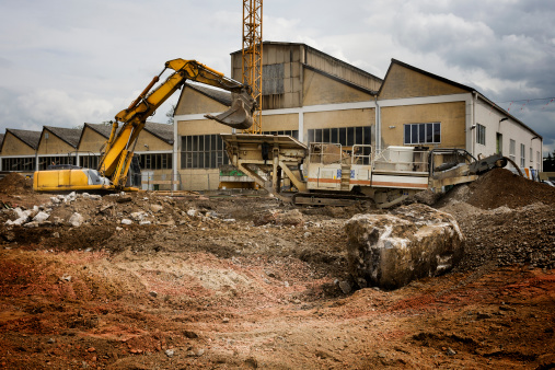 Building - Activity「Construction site, excavator」:スマホ壁紙(16)