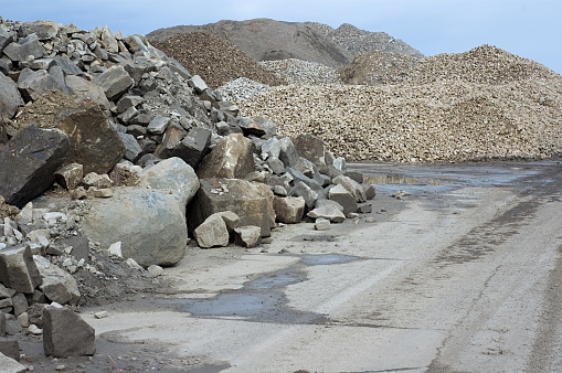 Boulder - Rock「Construction Rubble」:スマホ壁紙(6)