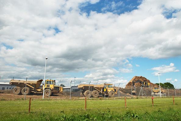 Finance and Economy「Construction work at army barracks, Colchester, Essex, UK」:写真・画像(2)[壁紙.com]