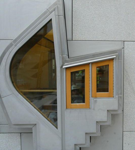 Christopher Furlong「New Scottish Parliament Under Construction」:写真・画像(5)[壁紙.com]
