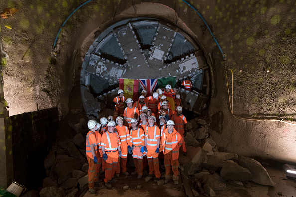 North「Breakthrough Of Northern Line Extension Tunnelling Machine」:写真・画像(4)[壁紙.com]