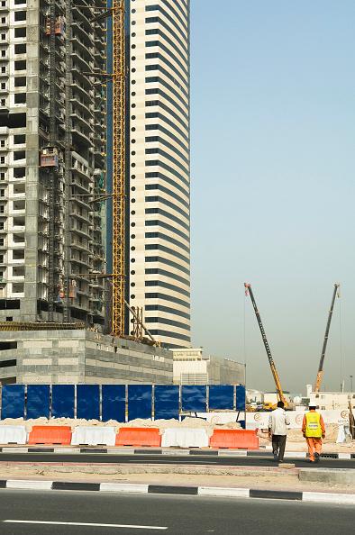 skyscraper「Towers under construction, Dubai」:写真・画像(6)[壁紙.com]